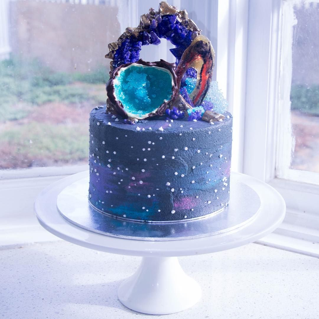 11 Galaxy-Themed Desserts That Are Totally Out Of This
