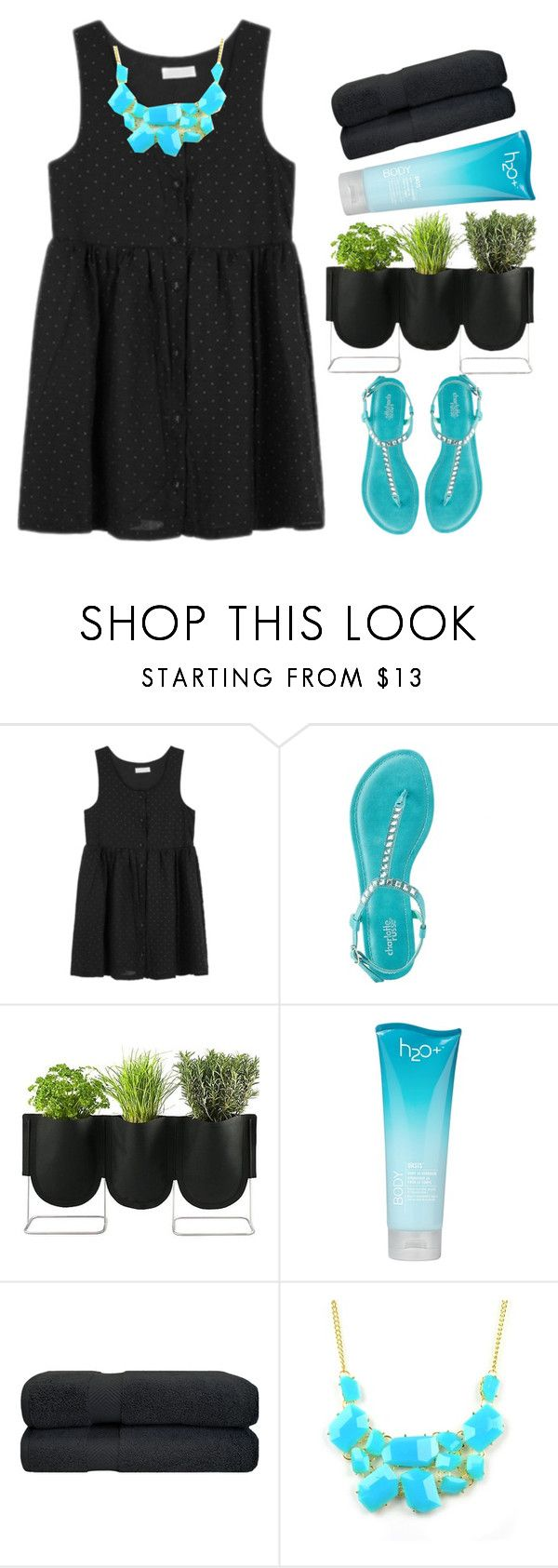 """""""016"""" by lesliekagengele ❤ liked on Polyvore featuring Charlotte Russe, Authentics, H2O+ and Emi Jewellery"""