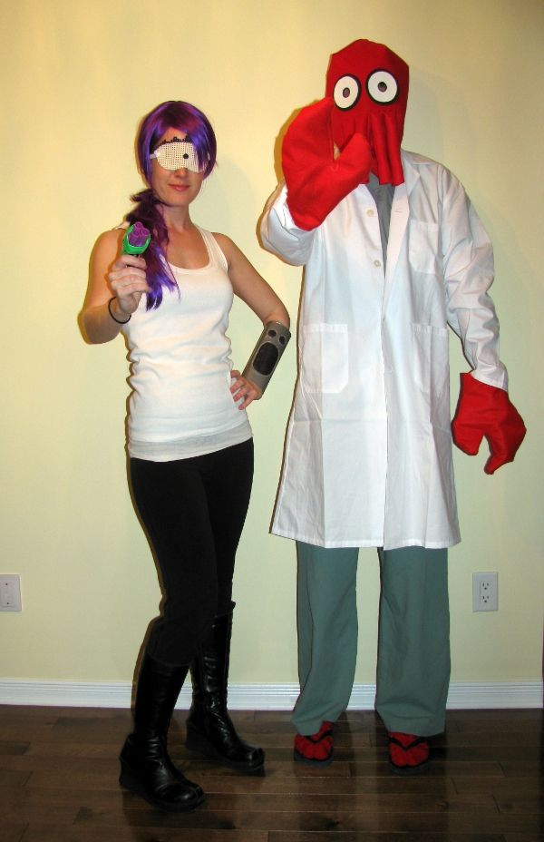 Leela and Dr. Zoidberg costumes! Now...I just need an ... Leela Costume