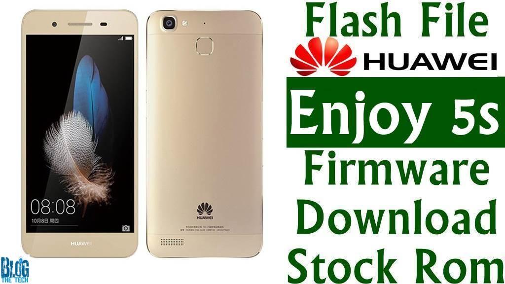 Flash File] Huawei Enjoy 5s TAG-AL00 B167 Firmware Download