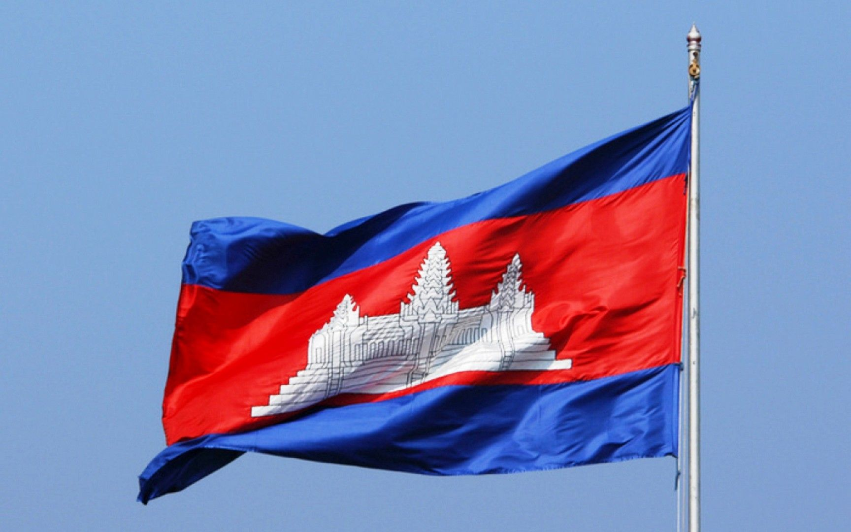 flag of the cambodia