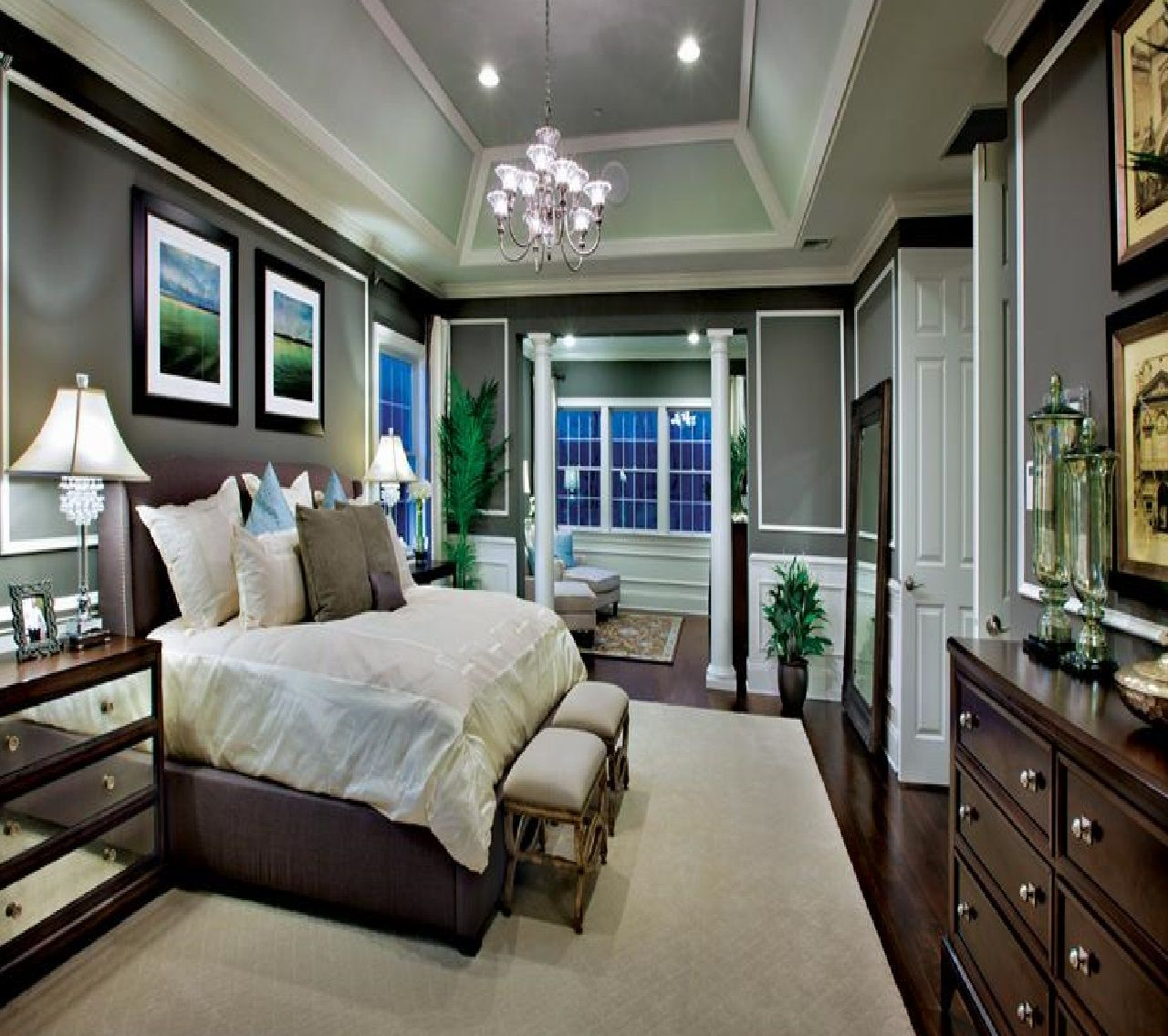 So Elegant Love A Sitting Area In A Master Bedroom By: INT. MASTER BEDROOM PARENTS MED #EpisodeInteractive