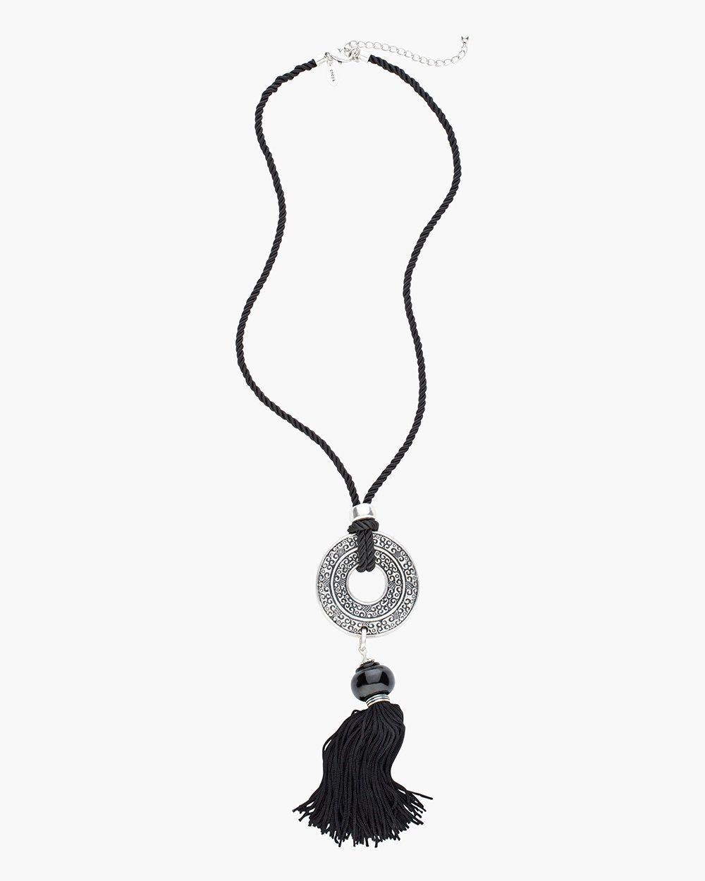 Sabra Tassel Necklace