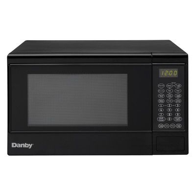 Danby 1 4 Cu Ft 1000w Countertop Microwave Color Black