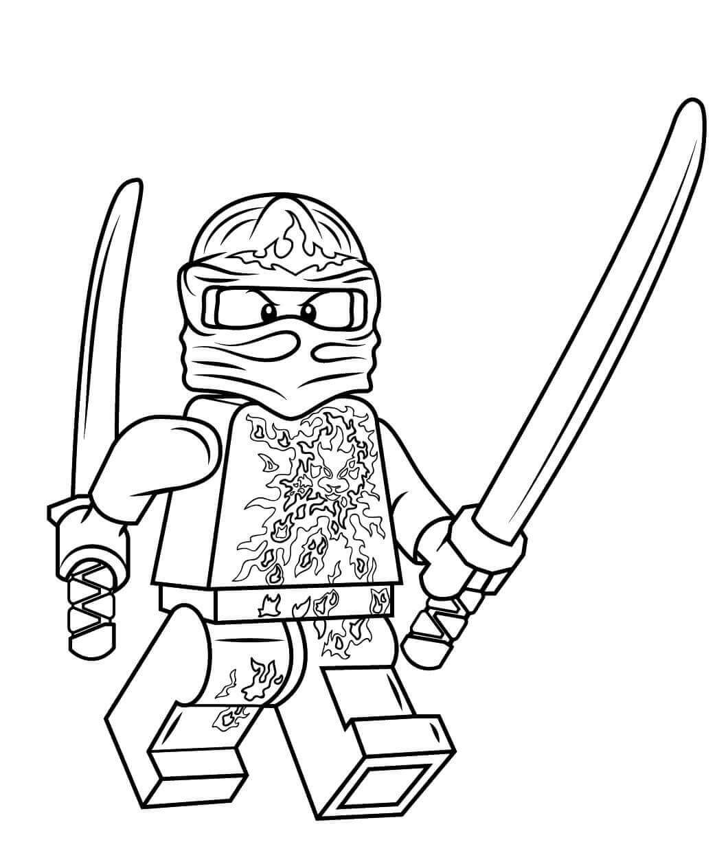 30 Free Printable Lego Ninjago Coloring Pages With Images
