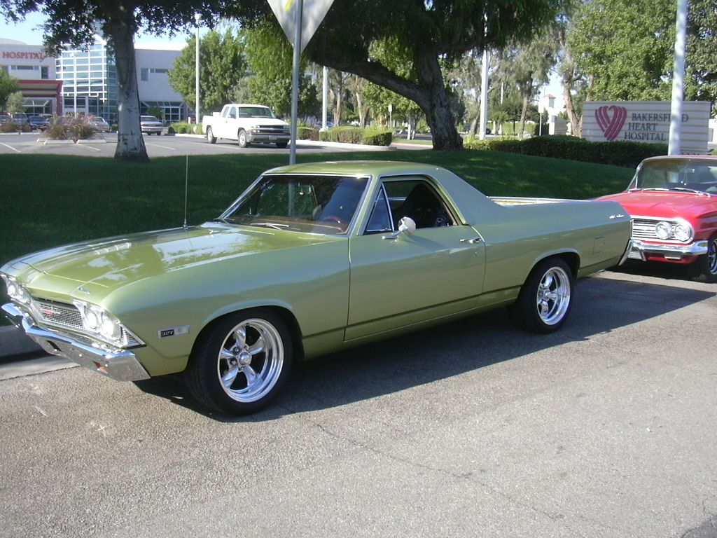 1968 Chevy El Camino this is my dream el camino and i dont know why but this is the color i always imagined it to be.
