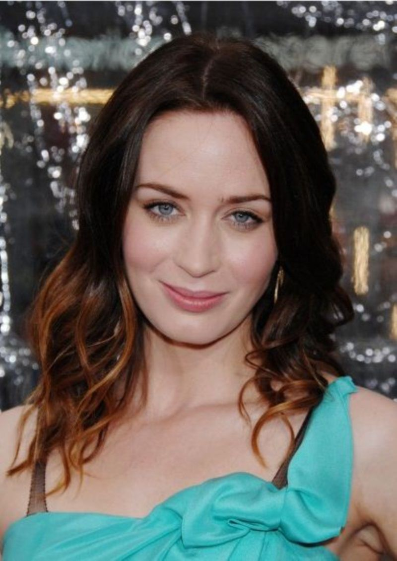 ombre hairstyles | Ombre HairStyle Fashion & Hollywood Emily Blunt Ombre HairStyle ...