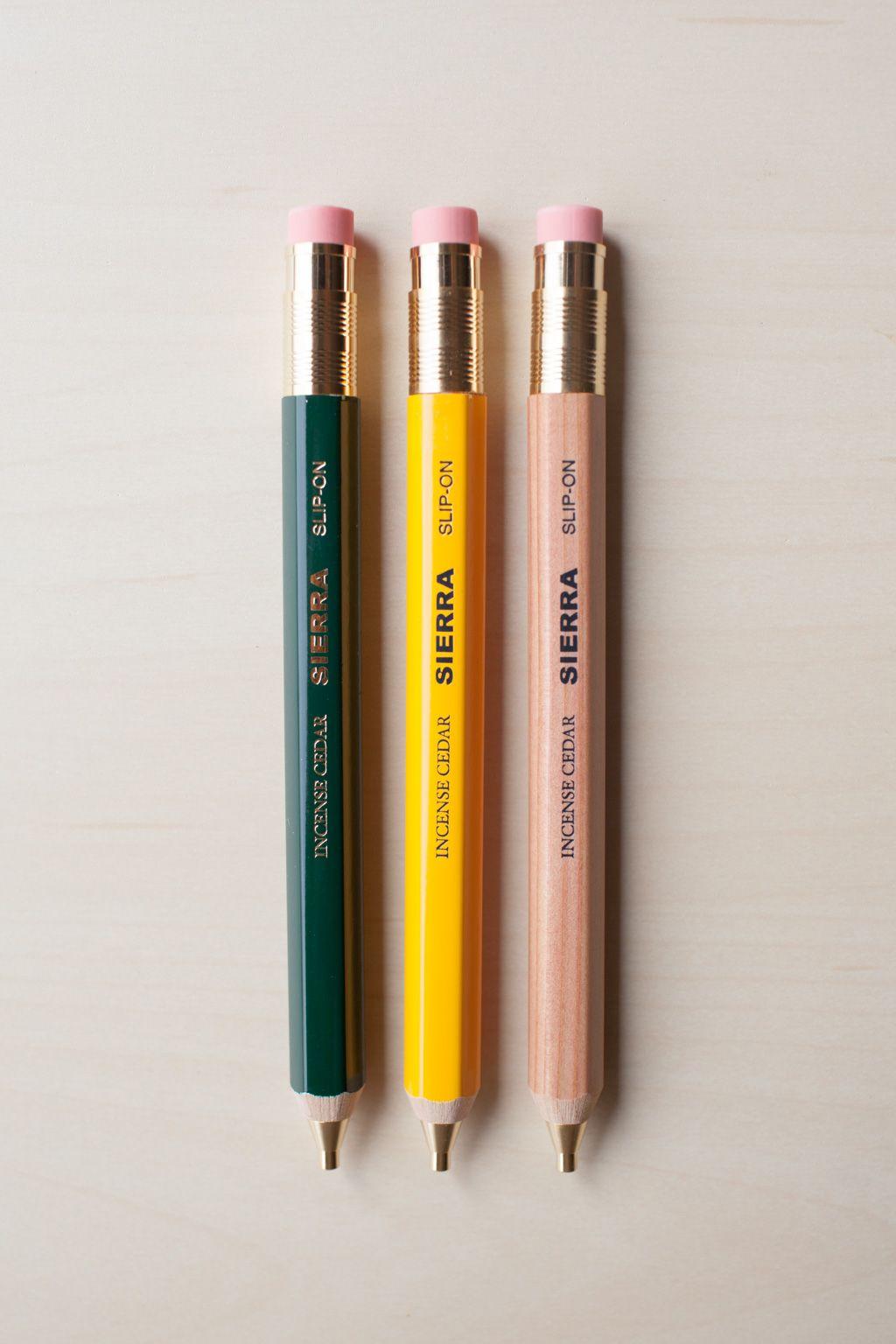 Blue Button Shop - Sierra Wooden HB Mechanical Pencil - SLI15NSTAUMUL103281