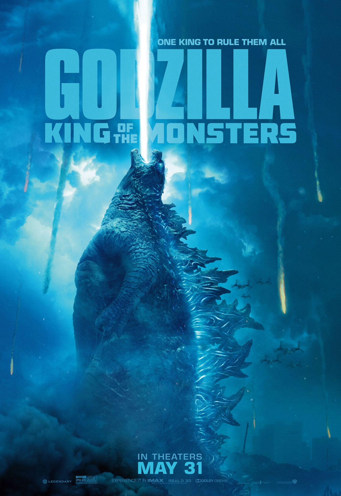 Godzilla King Of Monsters 2019 Movie Monsters Godzilla