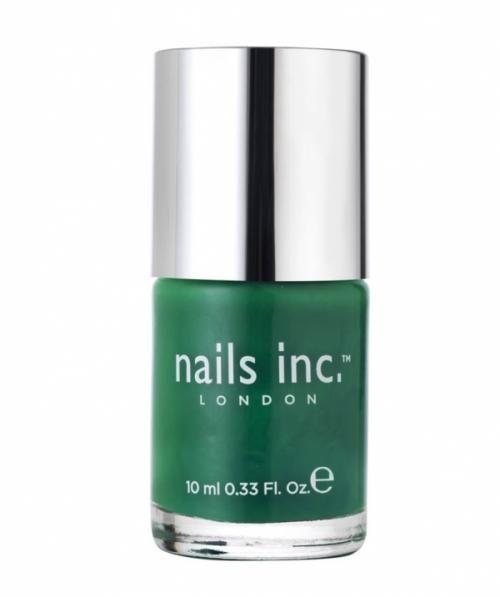 Nails Inc - Knightsbridge Green (Vibrant Emerald Green)   Nails Inc ...