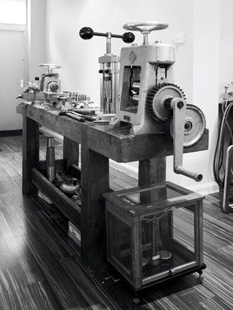 McCaul Goldsmith Workshop - Rolling Mill