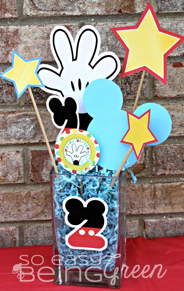 DIY Mickey Mouse Birthday Party Ideas Mickey mouse birthday
