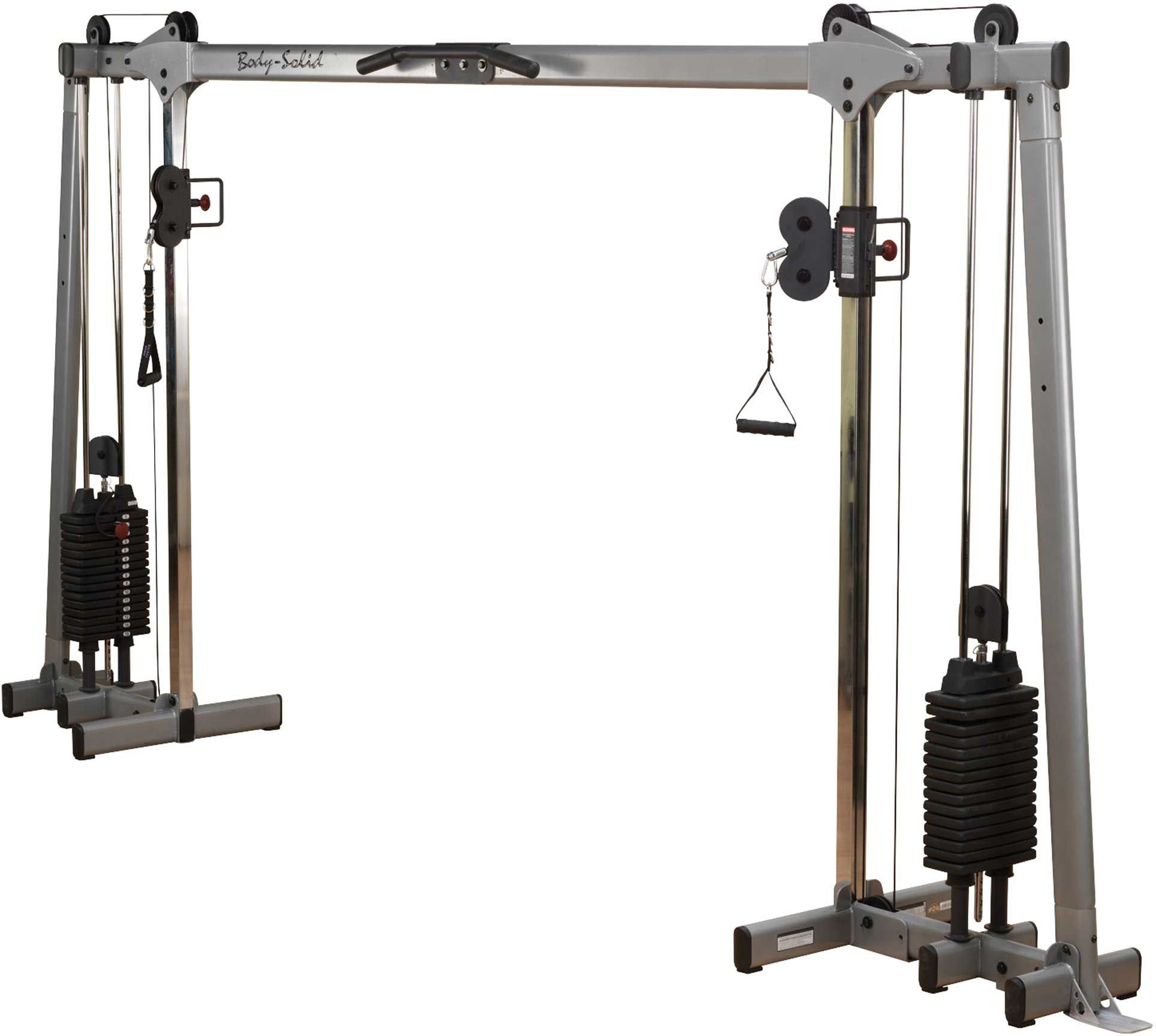 Body solid cable crossover products no equipment workout gym