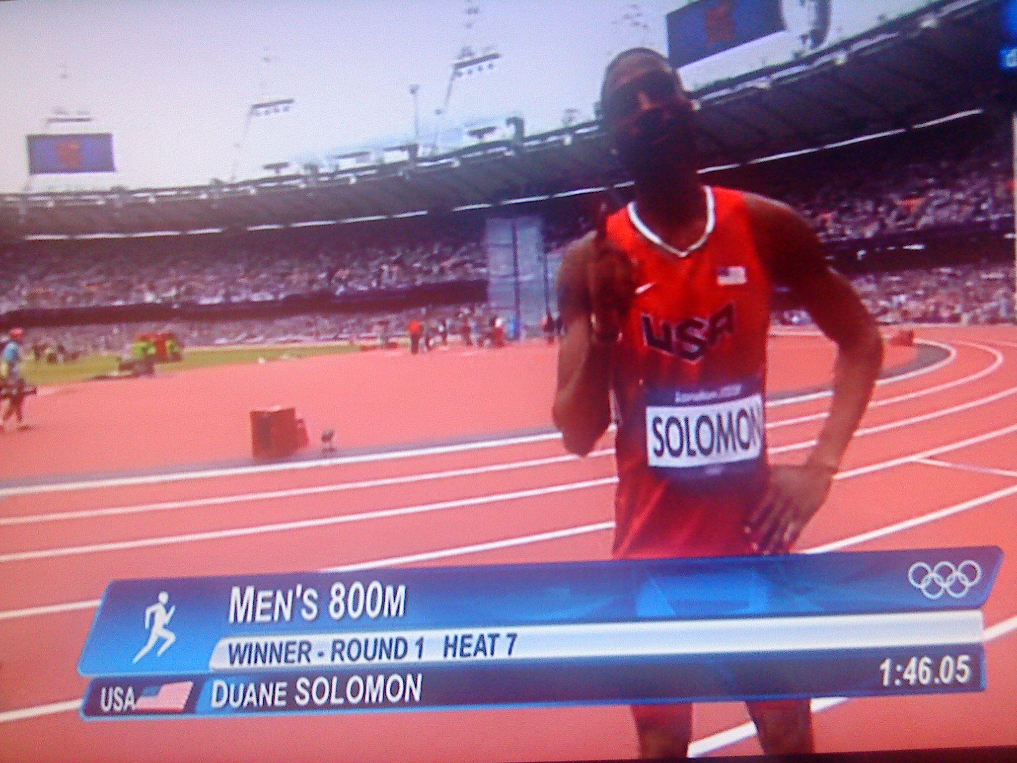 Duane Salomon haciendose el Flipado por ganar su Serie.