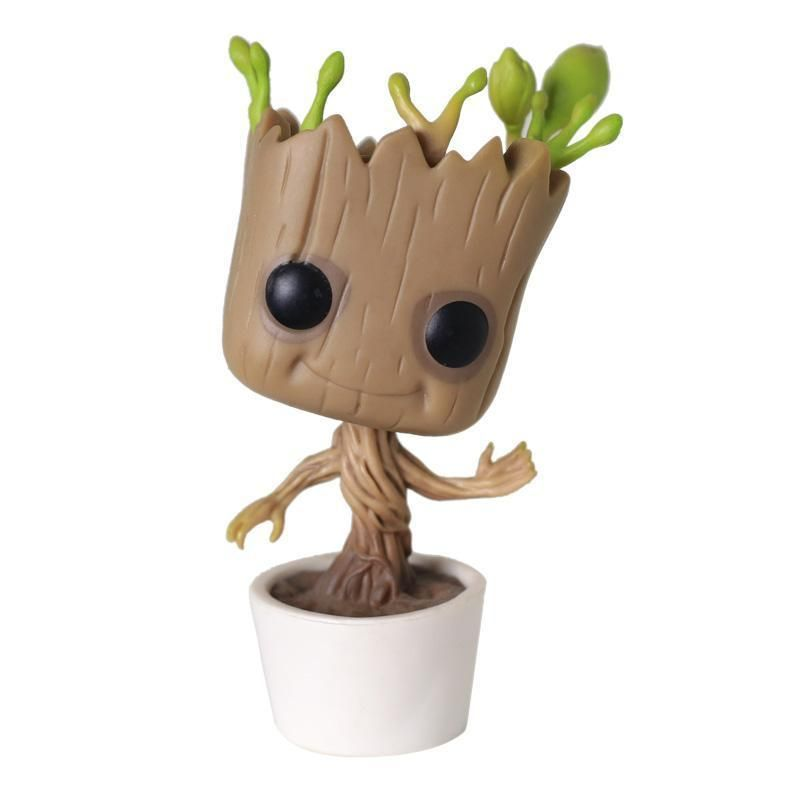Baby Groot Tree Flower Pot Vasos De Flores Groot Ideias Para Artesanato