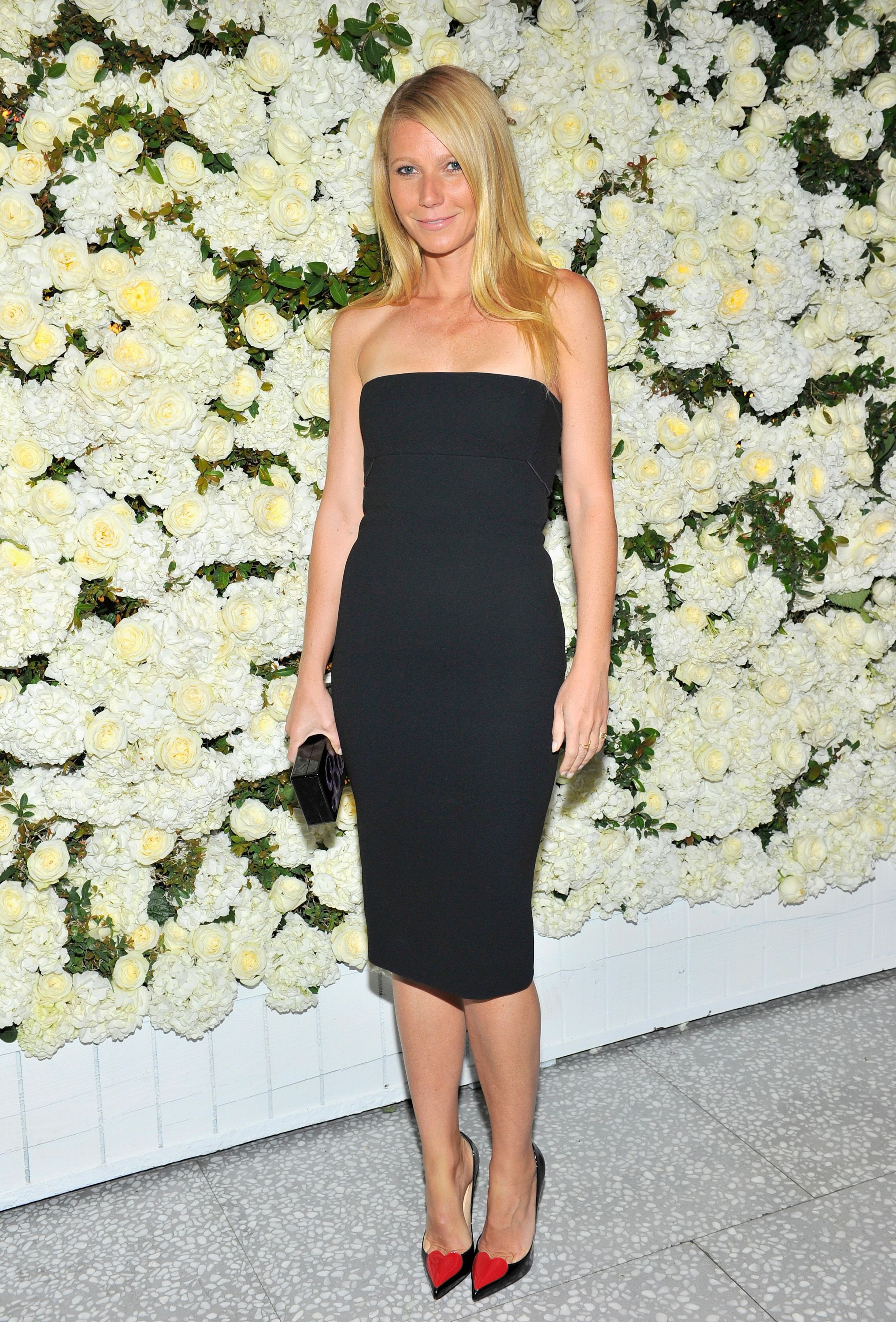 This week's best dressed dared to be bold: Gwyneth Paltrow.