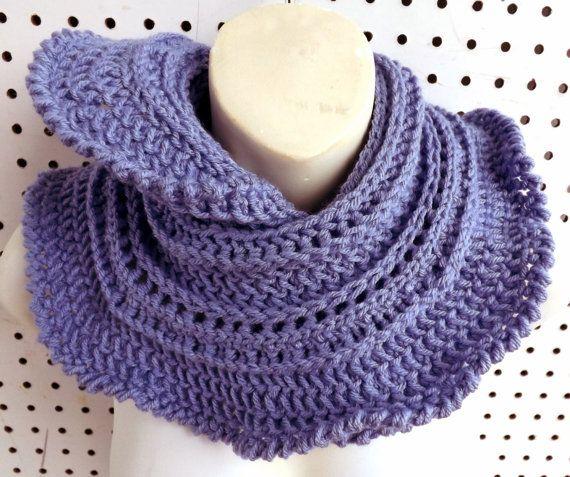 Periwinkle Crochet Scarf Crochet Infinity Scarf Crochet Ruffle Scarf Crochet…