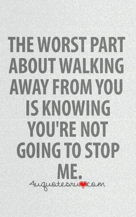 How to walk away from a relationship gracefully