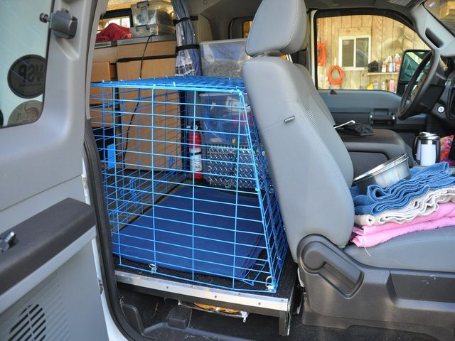 Image Result For Truck Extended Cab Dog Crate Dog Travel