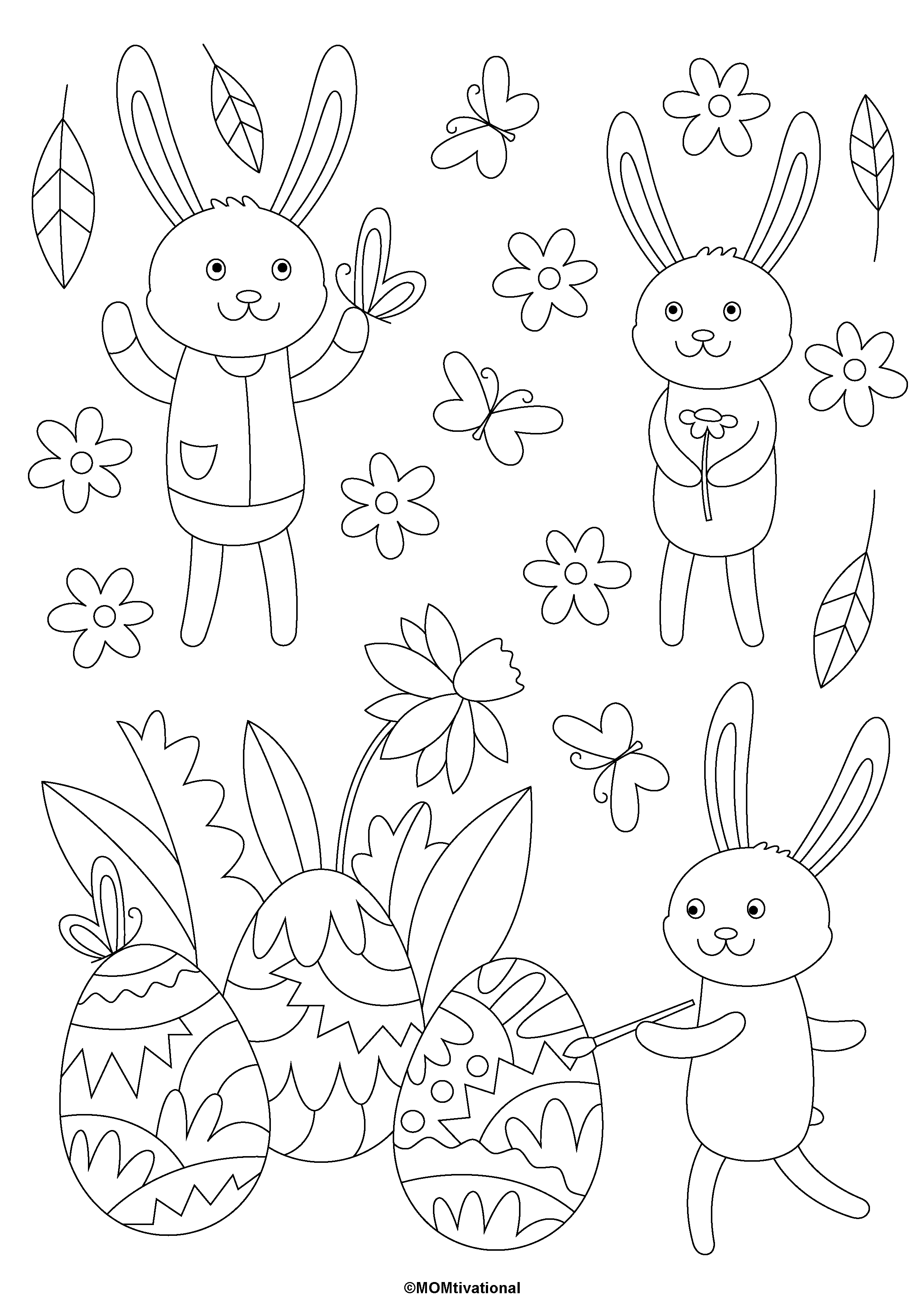 37+ Printable easter coloring pages activities ideas in 2021