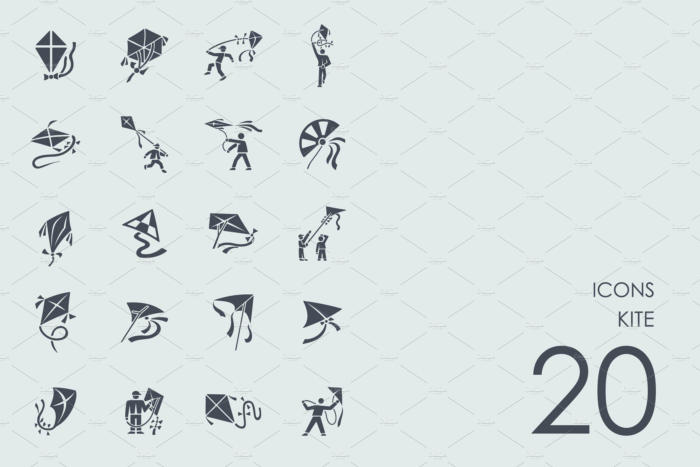 Kite icons Simple icon, Web font, Kite