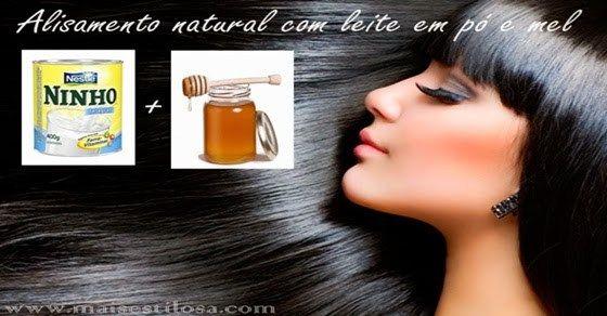 alisamento tradicional de cabelos cheio de química. Por isso nem todos podem fazê-lo - grávidas, por exemplo. Este alisamento natural não tem nenhuma contraindição. E alisa tanto quanto o