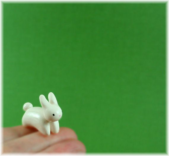 motion bunny / made with clay and love by melissa
