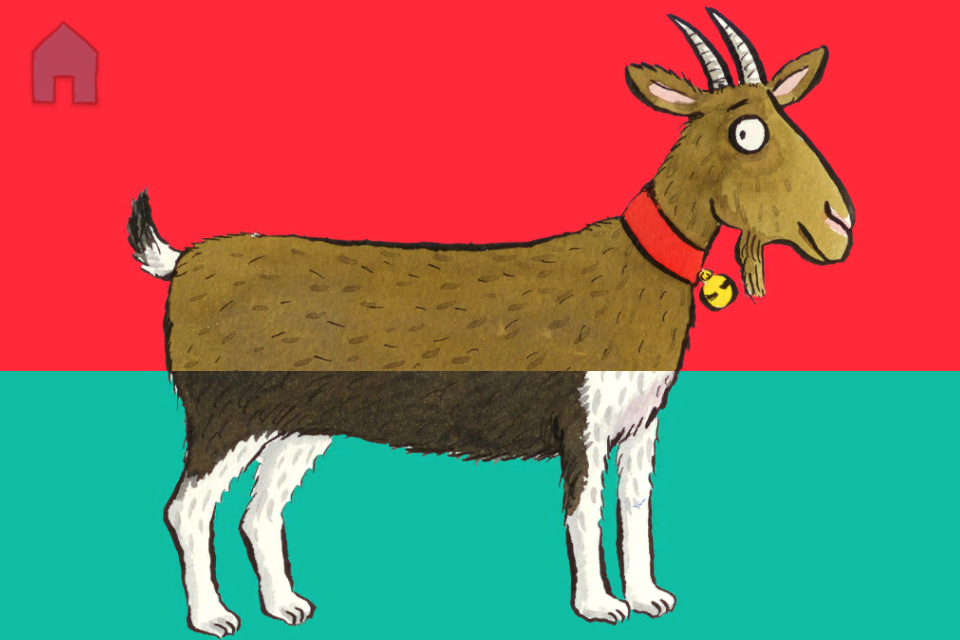 Our Animal SnApp Creations: Day five... a Gog! Find out about Animal SnApp on our website: http://nosycrow.com/apps/farm