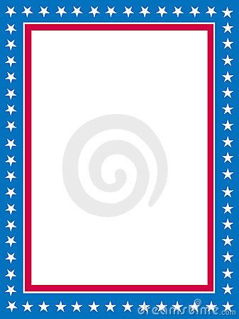 Patriotic border Borders and Frames Pinterest