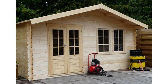 Gartenhaus aus Holz ALES + Boden Gartenhaus