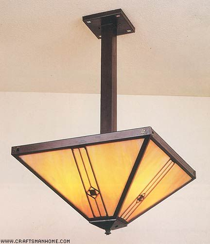 Arroyo Craftsman Ceiling Fixturei Had This Hanging Over Our Inspiration Craftsman Dining Room Lighting Decorating Design