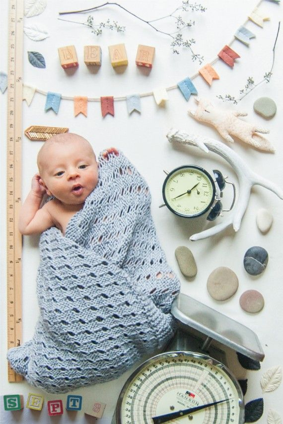 DIY Unique Birth Announcement Photoes – How to Make a Birth Announcement