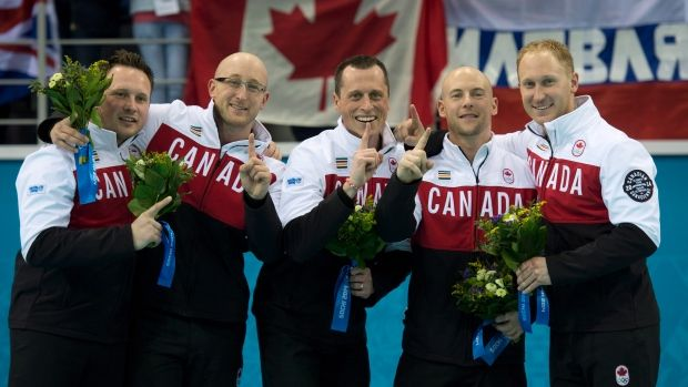 Canada's Brad Jacobs captures men's curling gold with 9-3 victory over Britain.