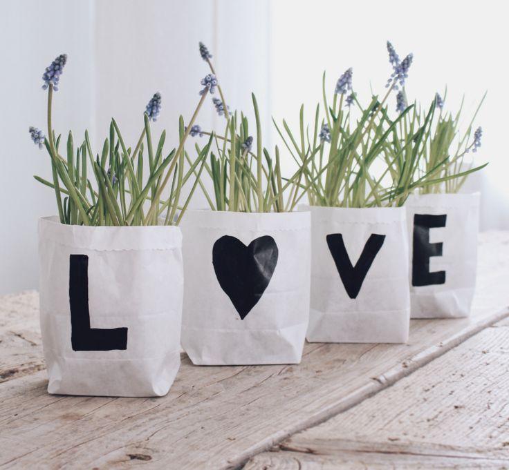 Make DIY Flower Pot Yourself – Last Minute Gift