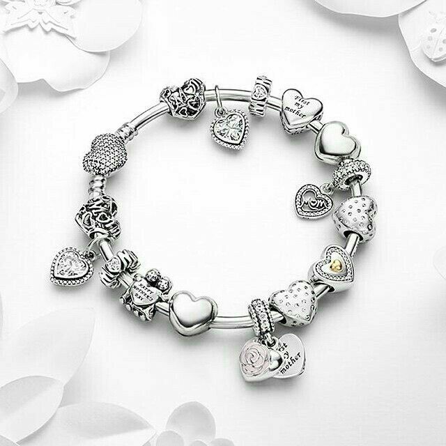 Pin by Laura Flores on Lindas pulceras | Pandora bracelet charms ...