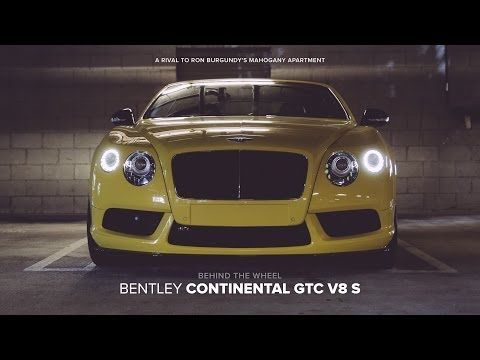 Behind The Wheel 2014 Bentley New Continental Gtc V8 S Youtube