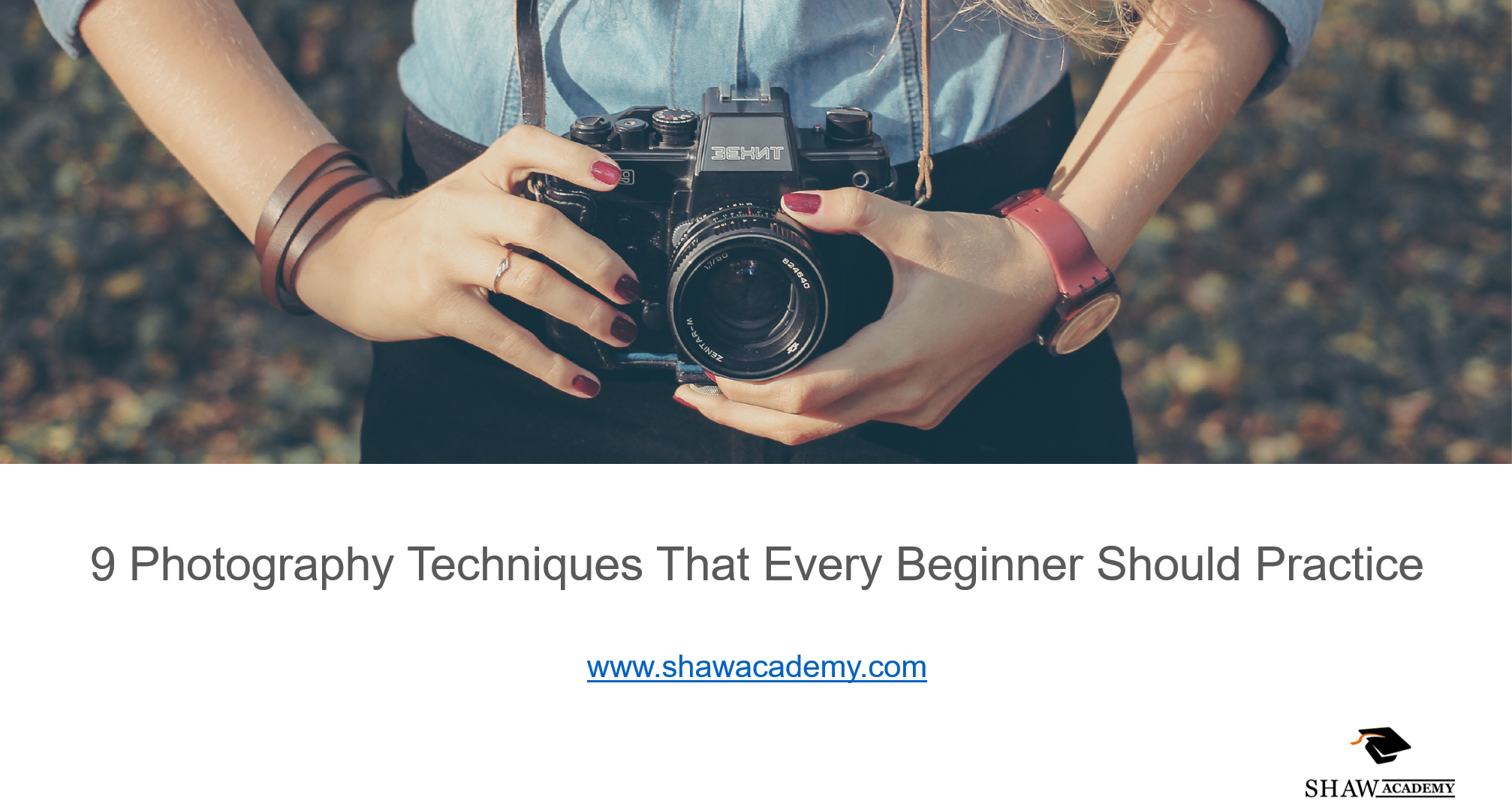 Check out our slideshare on 9 photography techniques that every beginner should practice.