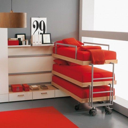 Letti a castello scorrevoli, modelli e prezzi | Baby room | Pinterest