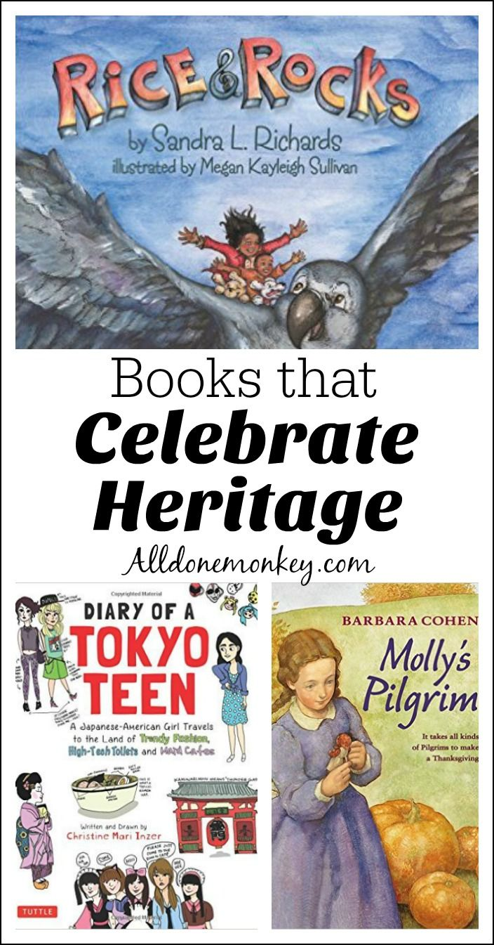 Books that Celebrate Heritage | All Done Monkey Blog | Best