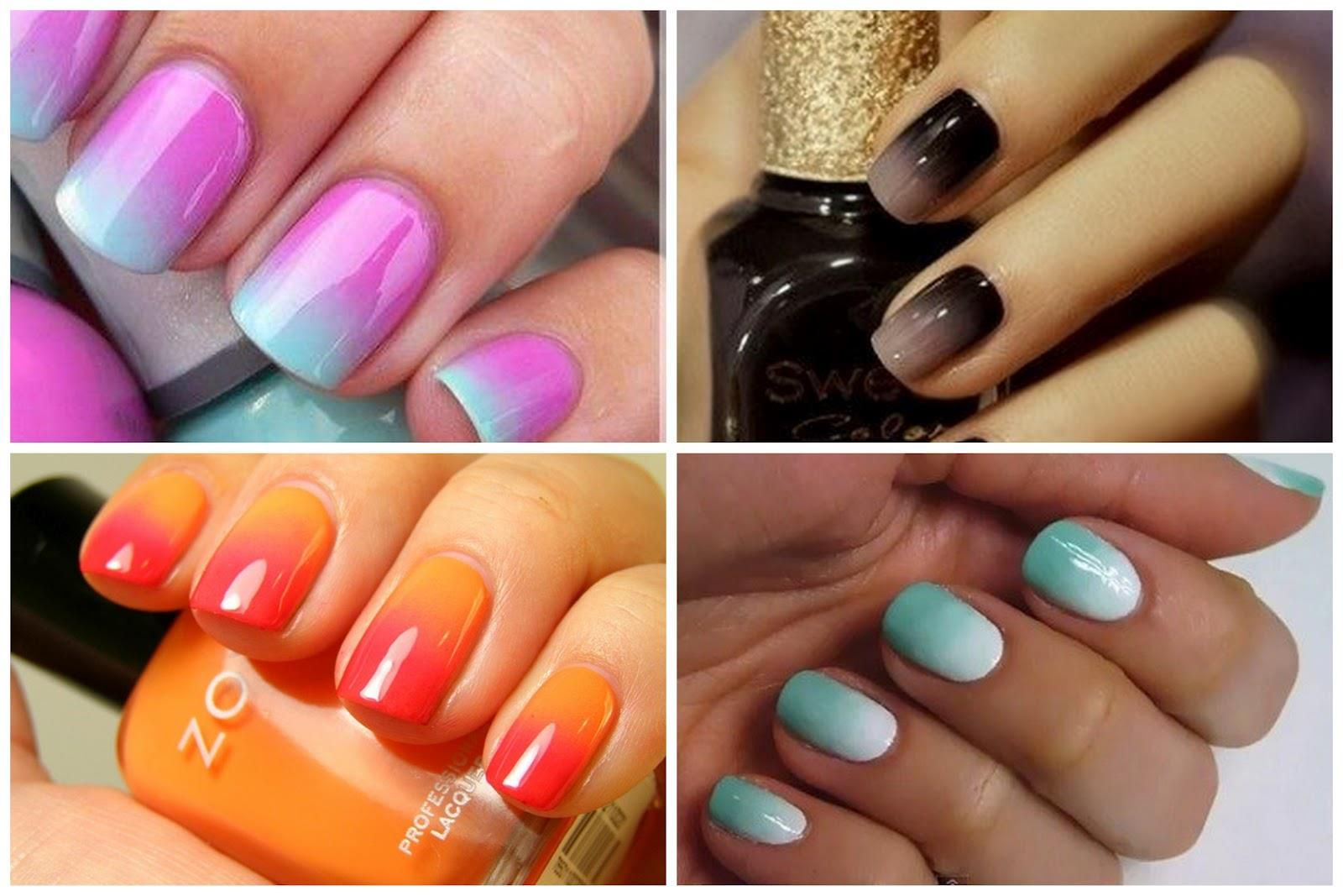 How To Guide: Ombre Nails at Home Ombré patterns have been ...