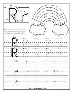 Printable letter r tracing worksheets for preschool printable printable letter r tracing worksheets for preschool printable coloring pages for kids spiritdancerdesigns Images