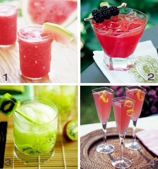Wedding Punch Ideas: Signature Drink For Wedding Reception RECIPES