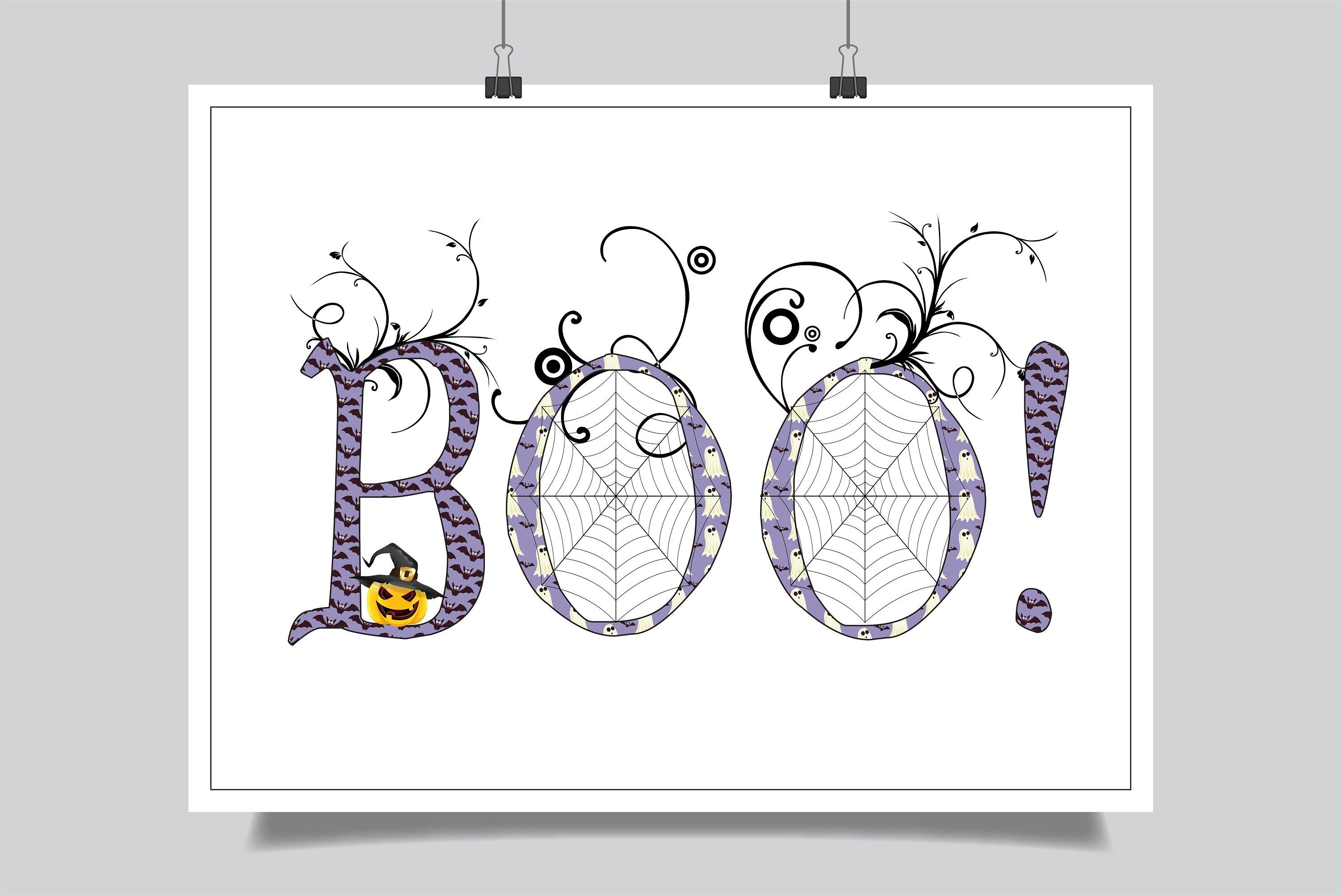 Boo By Alyxsattic On Etsy