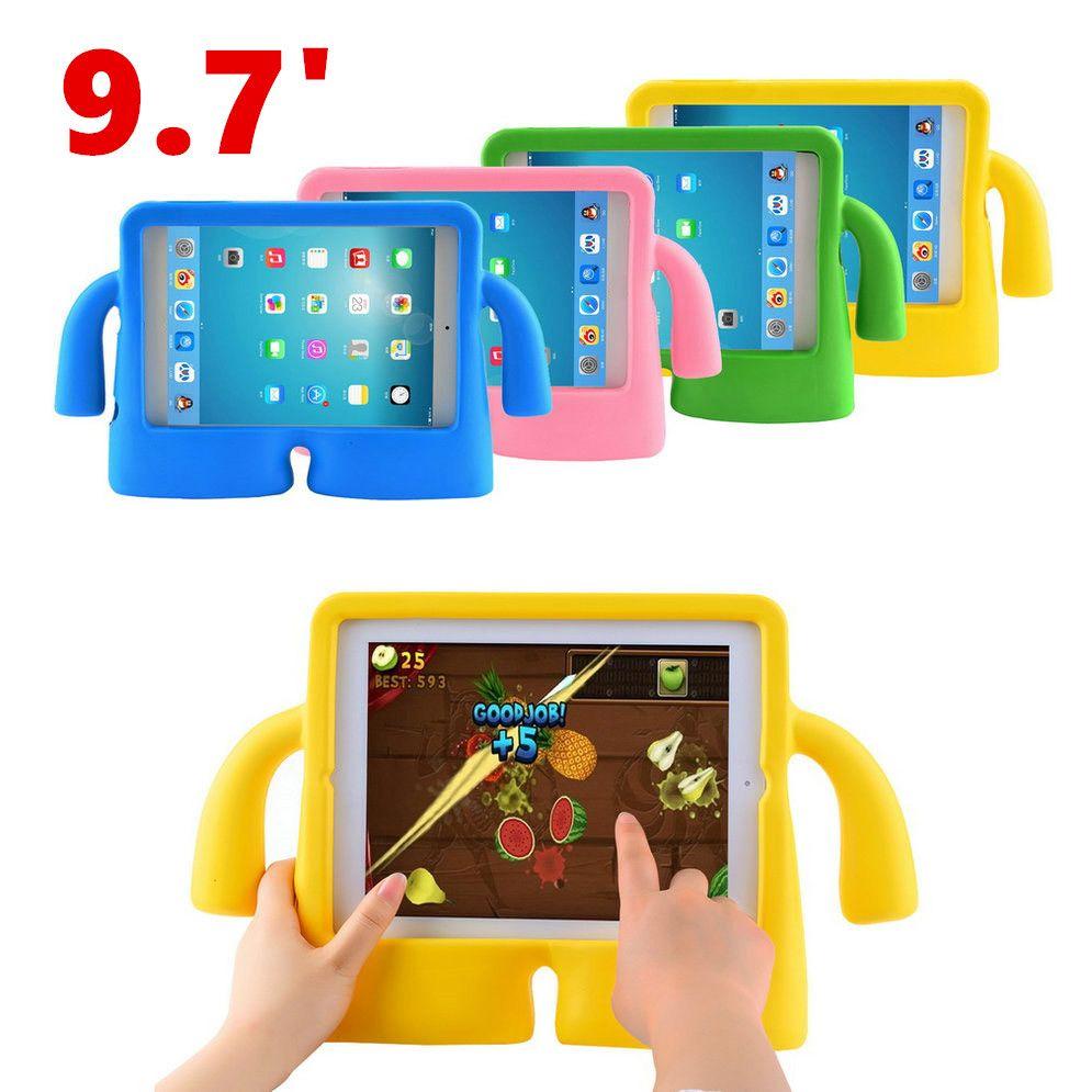 9.7 인치 eva 아이 case 커버 두꺼운 거품 충격 증명 소프트 핸들 스탠드 case 대한 대한 apple ipad 2/3/4 재고!