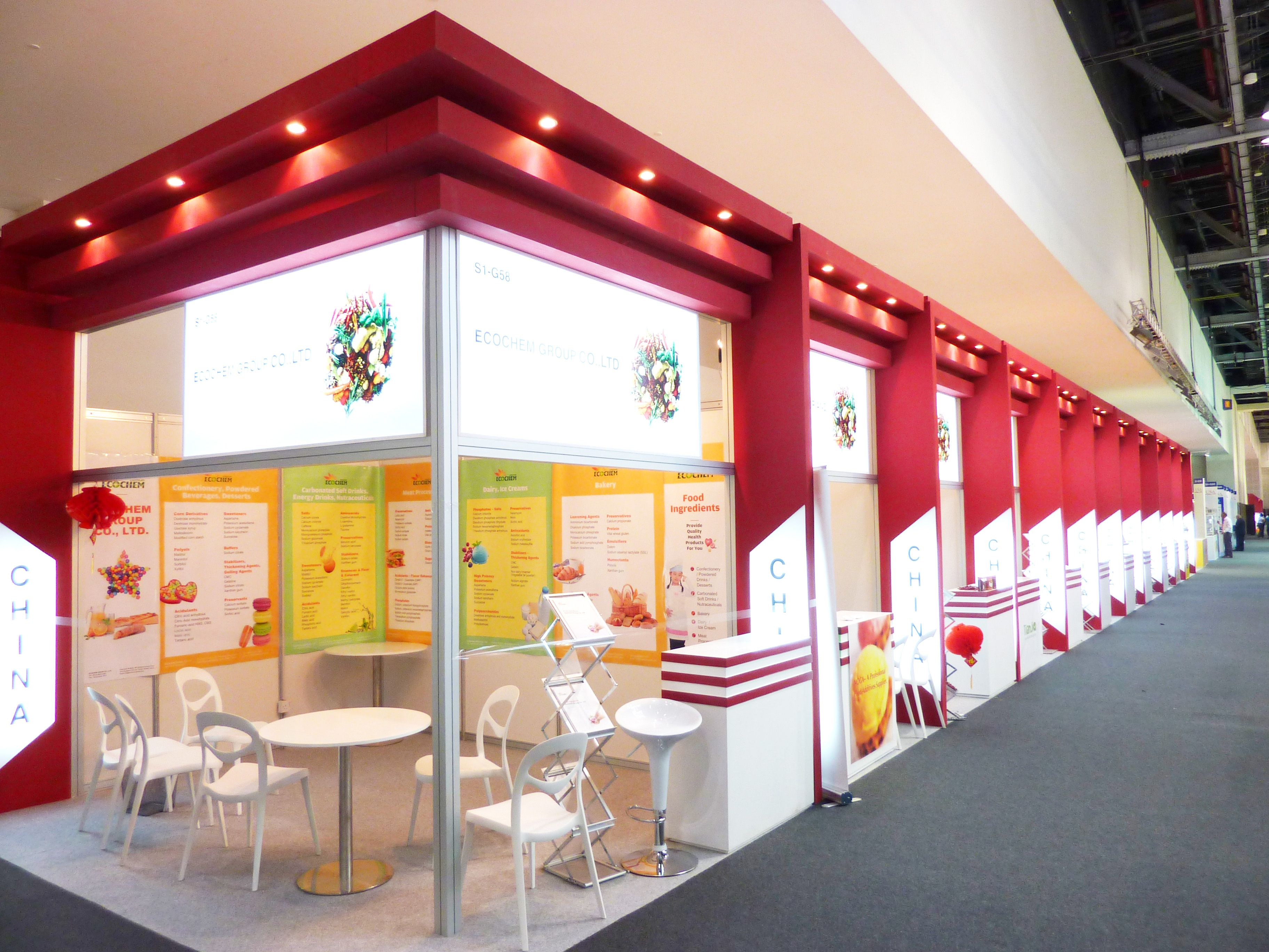 Exhibition Stand Design China : Exhibitionpavilion for china gulfood manufacturing