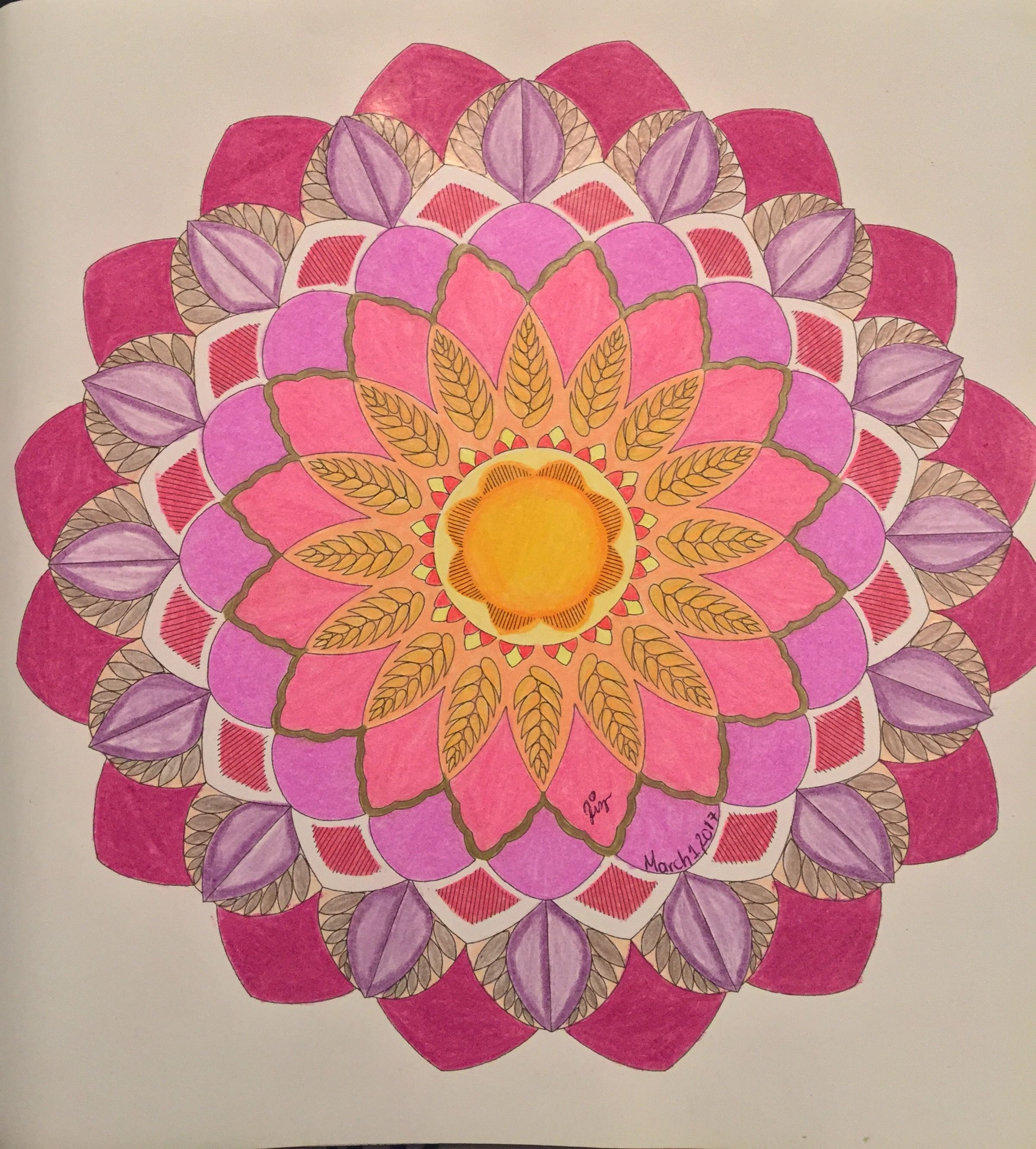 Animal Kingdom Millie Marotta Colouring Book Adult Colouring