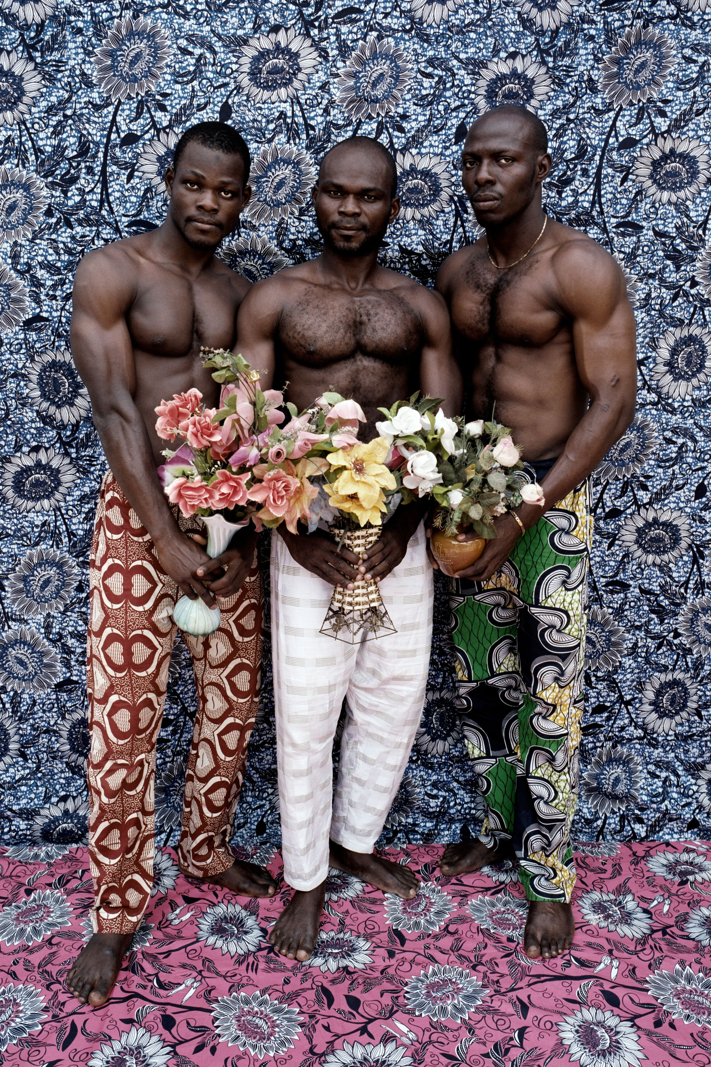 Of Masks And Musclemen 50 Years Of West African Studio Shots In