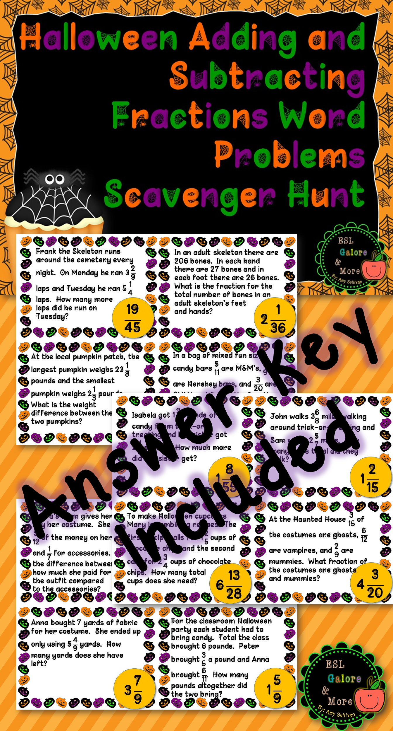 Halloween Adding And Subtracting Fractions Word Problems Adding And Subtracting Fractions Subtracting Fractions Adding And Subtracting [ 2496 x 1344 Pixel ]