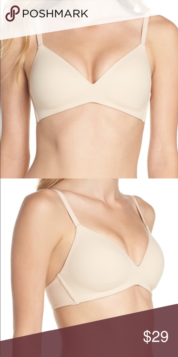 0bb90327b2e22 Wacoal How Perfect No-Wire Contour Bra 36D Ultrasoft brushed fabric covers  the stretch foam-lined cups of a bra that smoothes and shapes without  wires