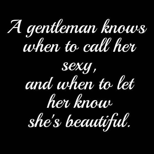 Pin On A True Gentlemen